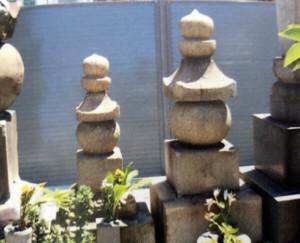 小宰相と通盛の供養塔の画像