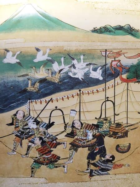 富士川合戦絵巻